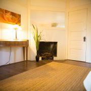 living room in besant suite